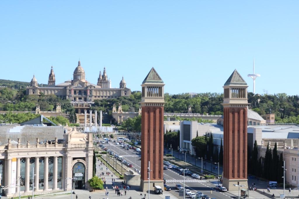 barcelona plaza_españa monjuic ayearinbarcelona