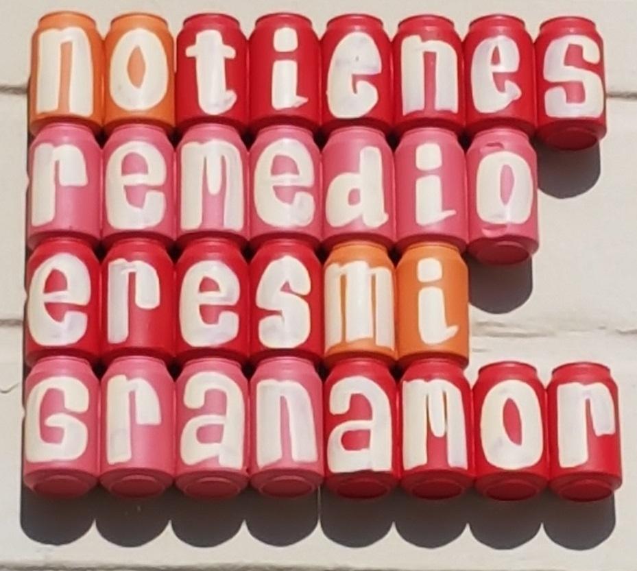 barcelona streetart latas granamor ayearinbarcelona