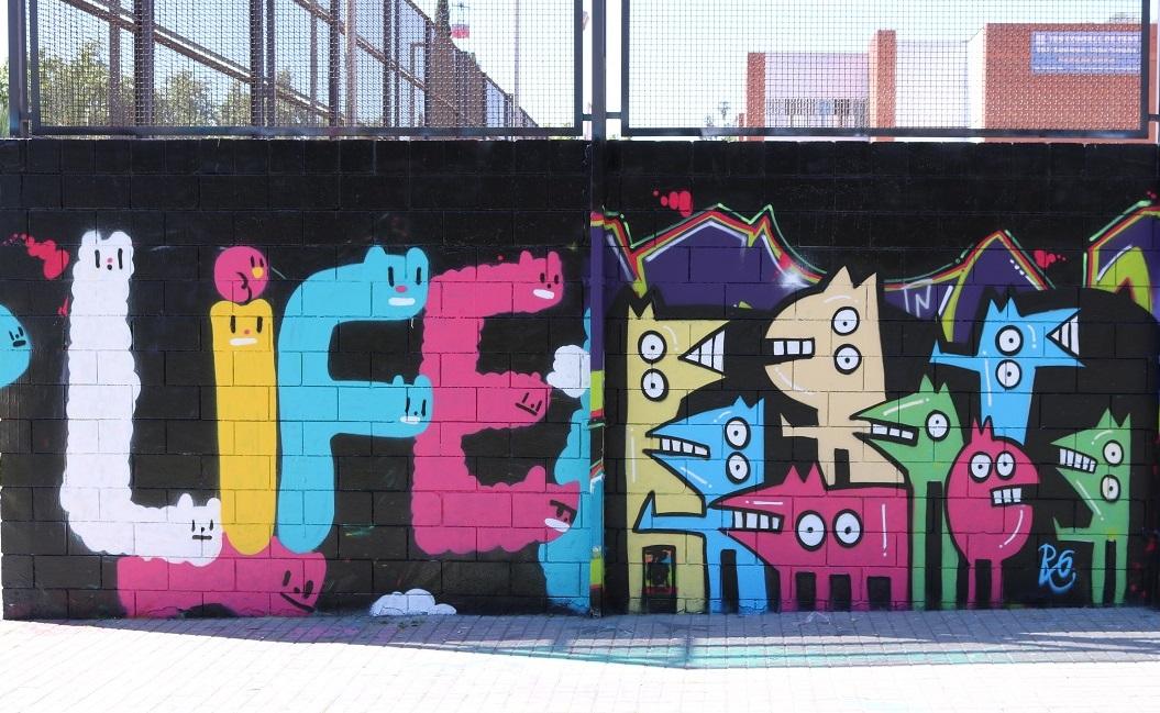 barcelona streetart parallel ayearinbarcelona