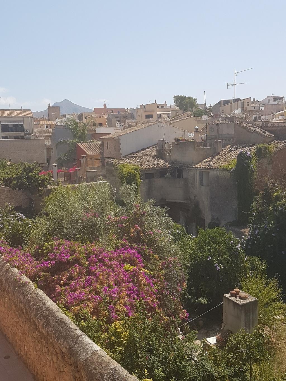 alcudia view citywall mallorca ayearinbarcelona