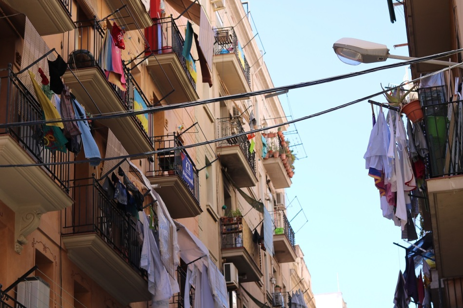Barceloneta streets Barcelona Ayearinbarcelona
