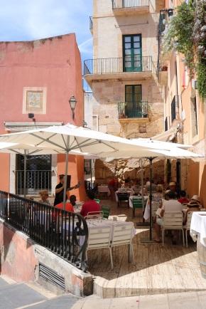tarragona city street