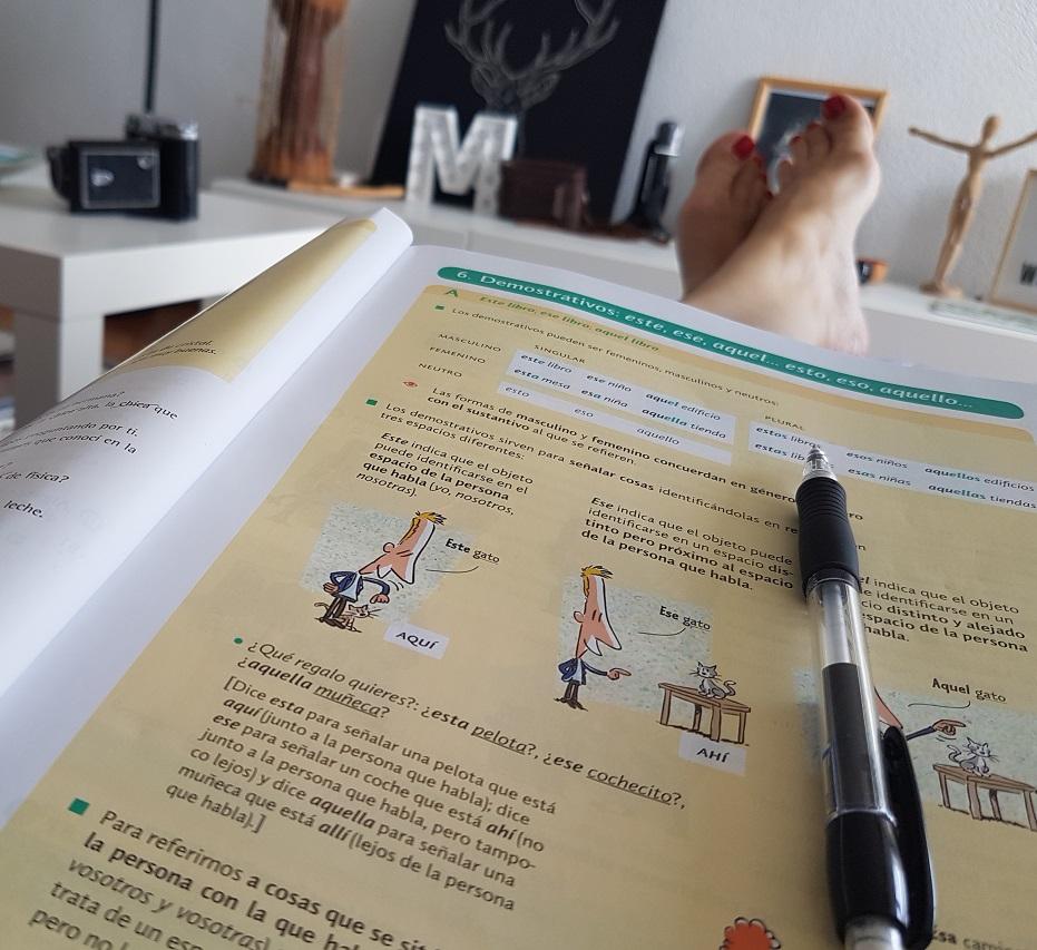 Gramaticaespañola spanishgrammar spanskgrammatik learningspanish ayearinbarcelona