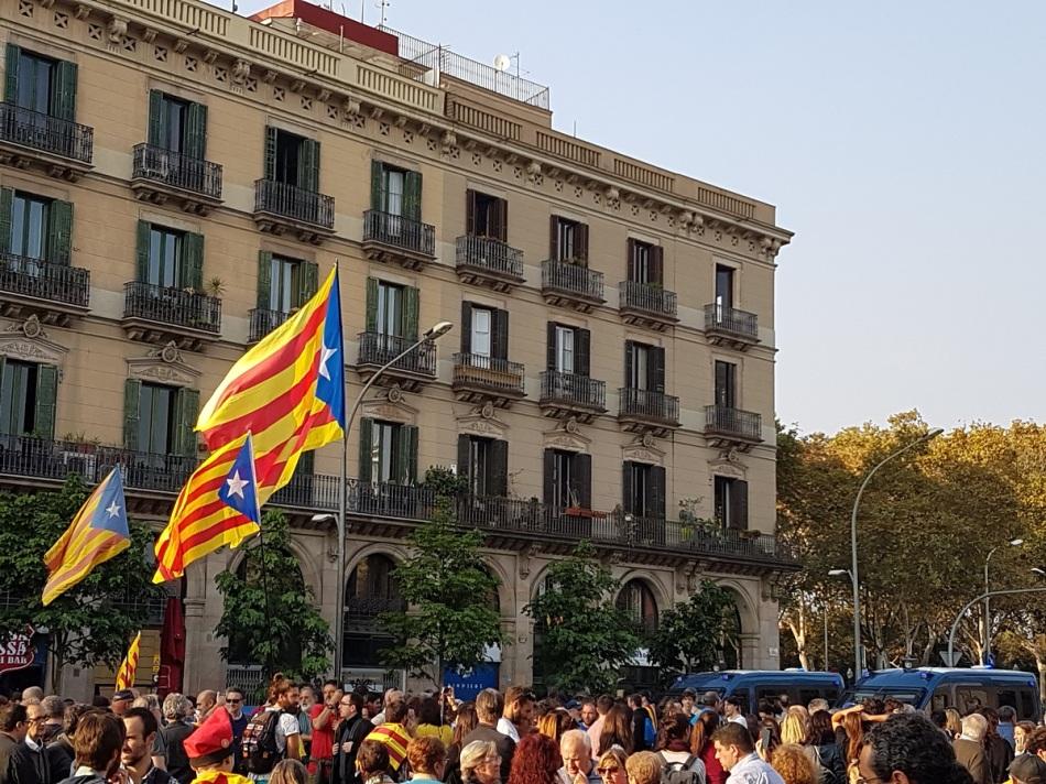 Cataluña Barcelona Interpendence ayearinbarcelona