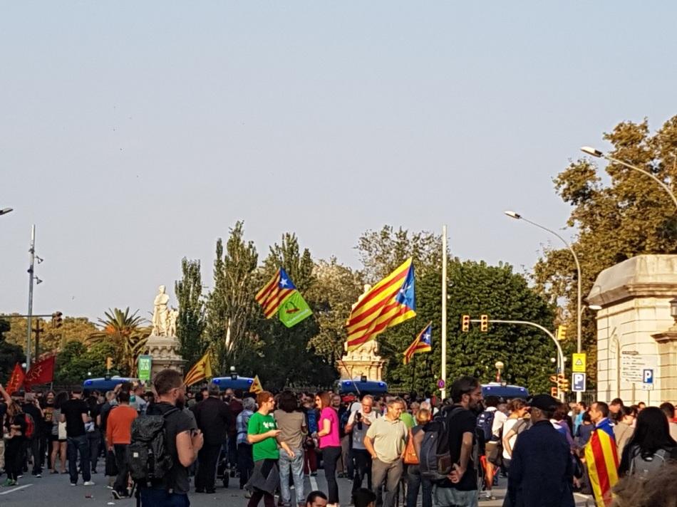 Cataluña Barcelona Interpendence