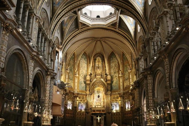 Montserrat Barcelona Catalonia church ayearinbarcelona