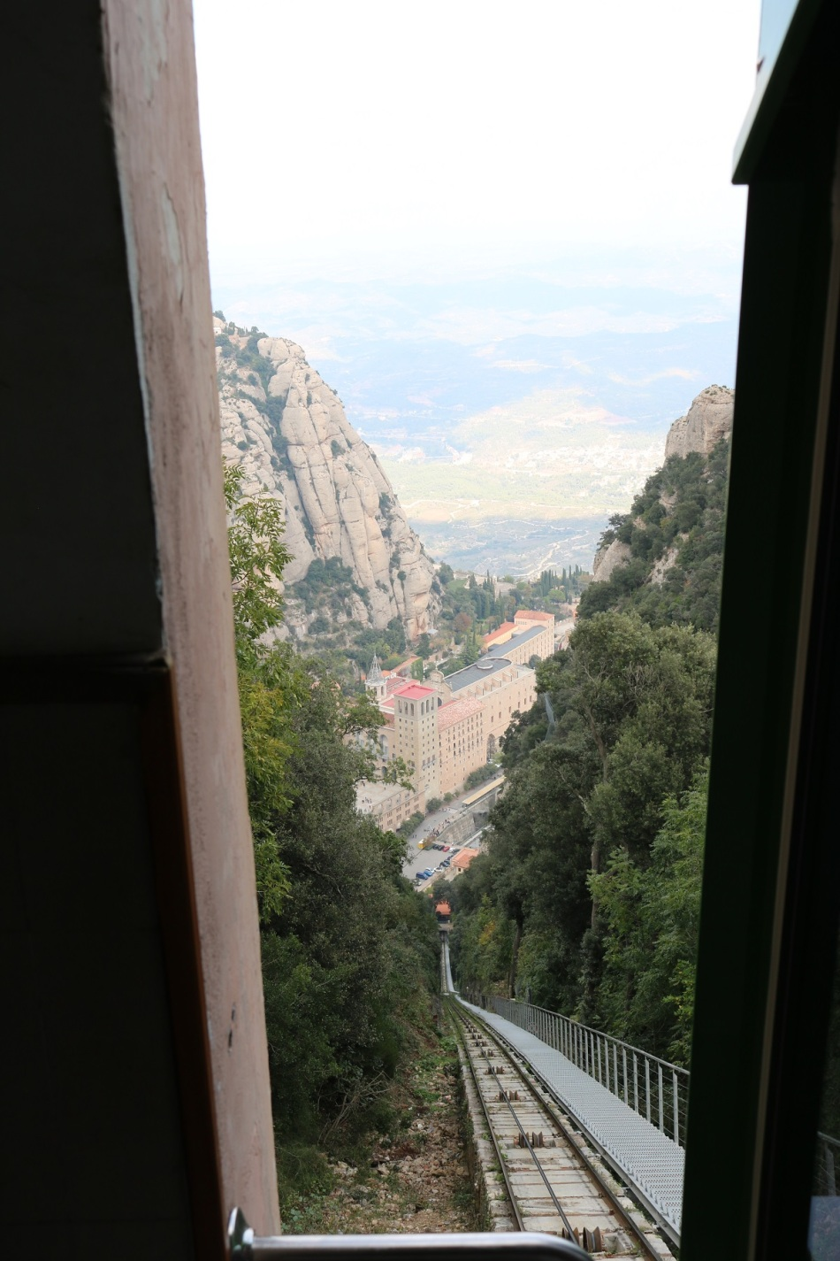 Montserrat Barcelona Catalonia funicular ayearinbarcelona