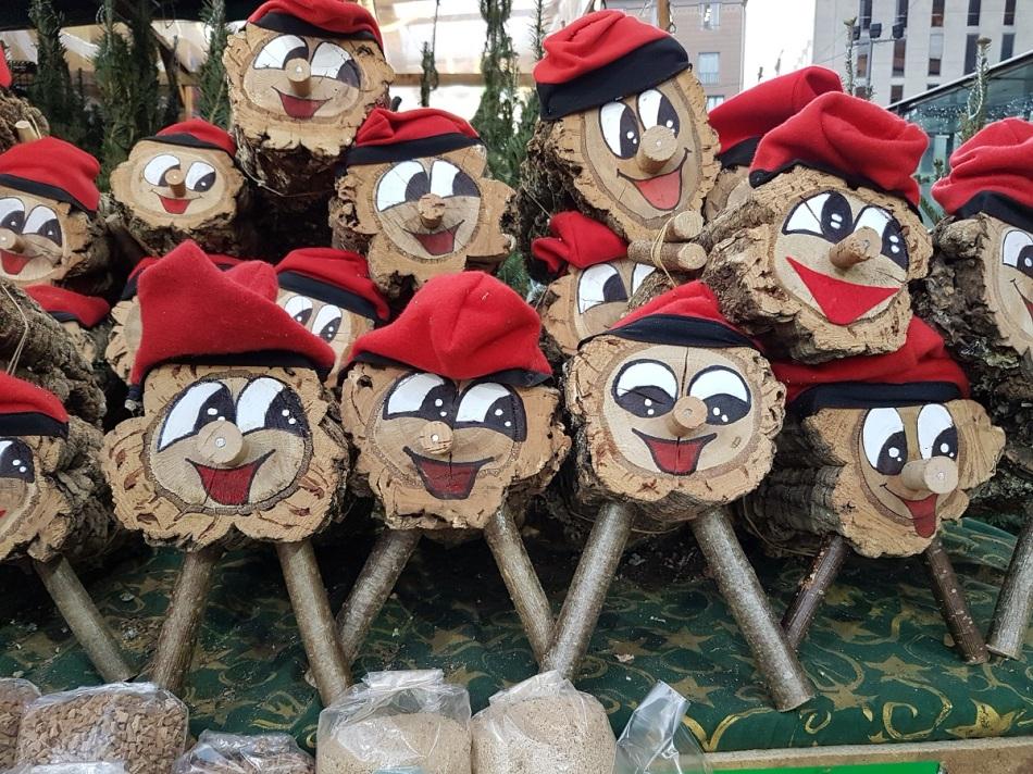 Navidad GagaTio Barcelona ayearinbarcelona