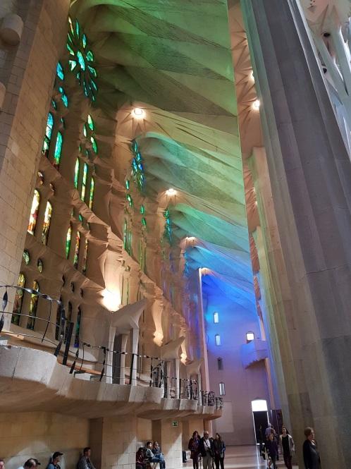 La Sagrada Familia gaudí l'eixample ayearinbarcelona