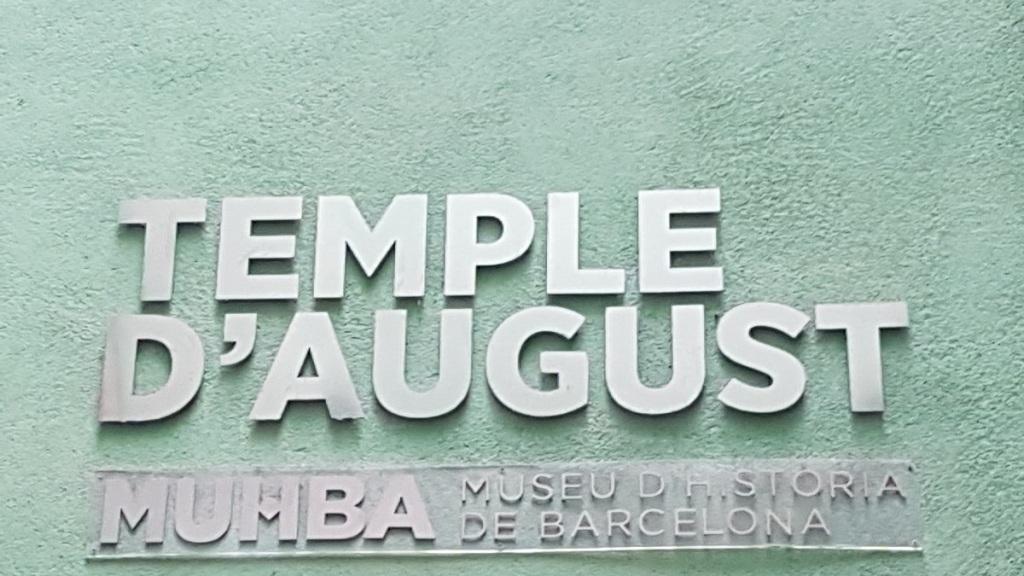 TempleRomàd'August Barcelona ayearinbarcelona
