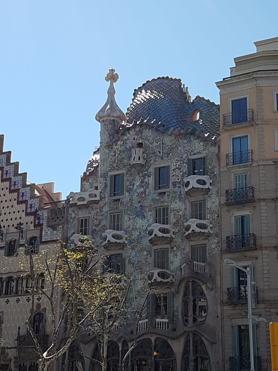 CasaBatllo Gaudi Eixample Barcelona sight ayearinbarcelona