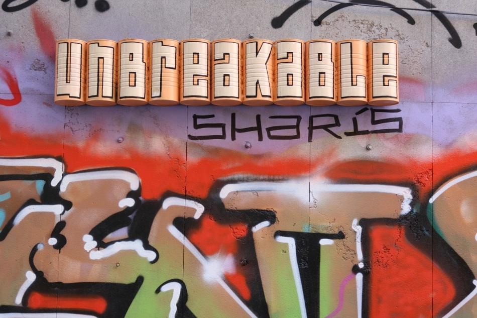 Streetart melata ayearinbarcelona